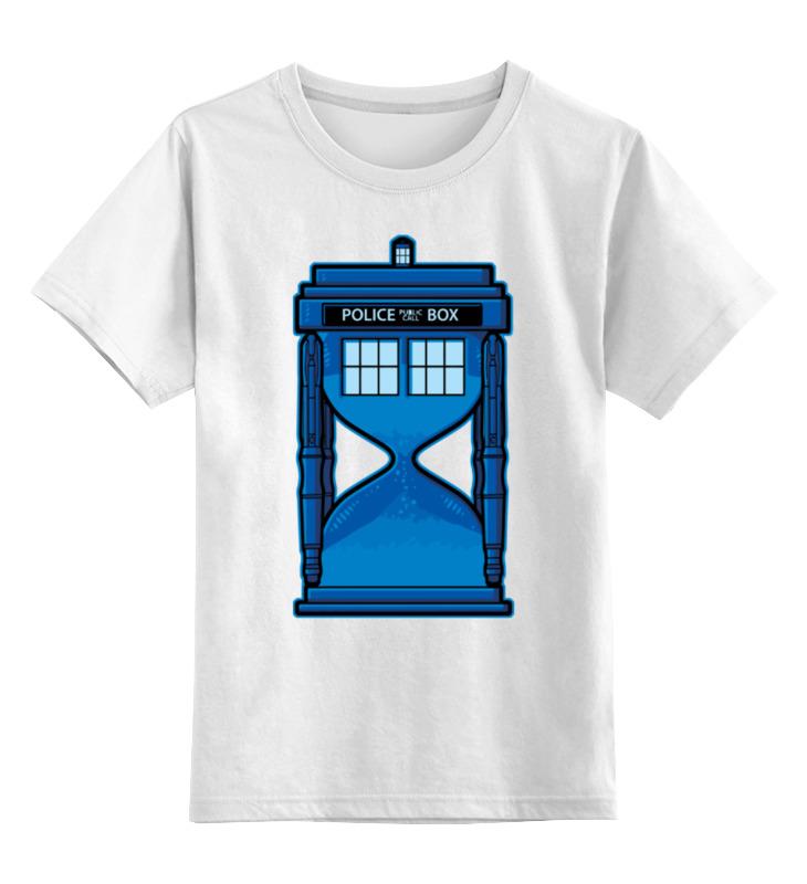 Детская футболка классическая унисекс Printio Тардис (доктор кто) футболка рингер printio тардис доктор кто
