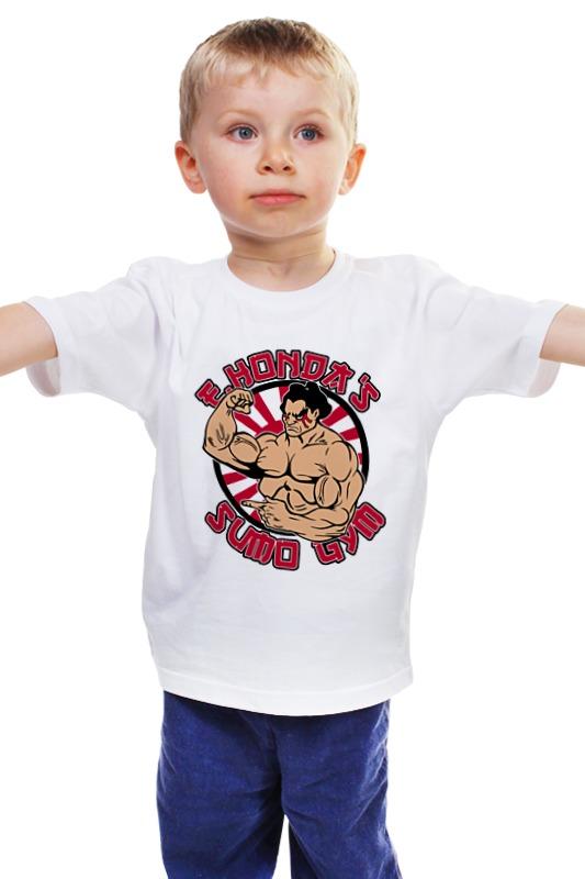 Детская футболка классическая унисекс Printio Эдмонд хонда (уличный боец) куплю авто с пробегом в кирове хонда црв