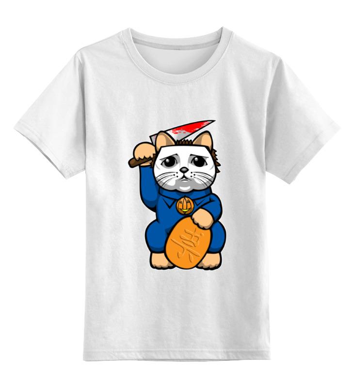 Детская футболка классическая унисекс Printio Майкл майерс (хэллоуин)