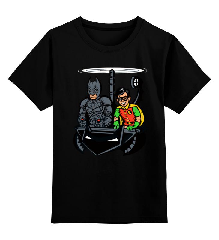 Детская футболка классическая унисекс Printio Бэтмен и робин детская футболка классическая унисекс printio бэтмен и робин время приключений