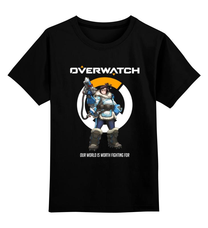 Детская футболка классическая унисекс Printio Overwatch. мэй