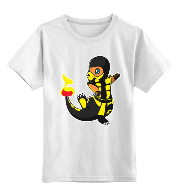 Printio Скорпион (покемон) детская футболка классическая унисекс printio скорпион