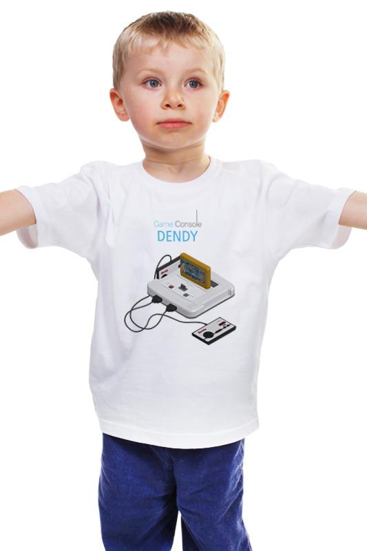 Детская футболка классическая унисекс Printio Игровая приставка денди муж джемпер денди р 66