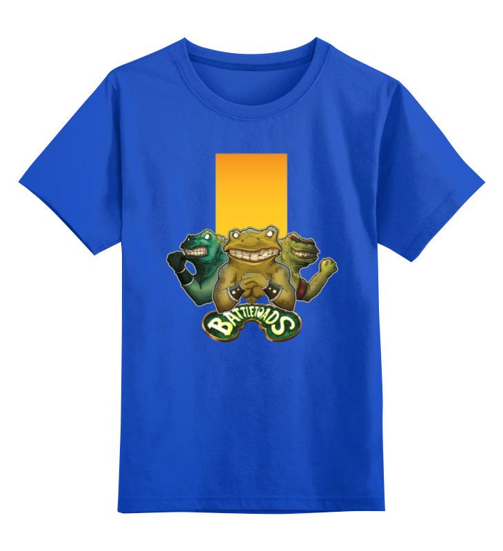 Детская футболка классическая унисекс Printio Battletoads футболка print bar battletoads