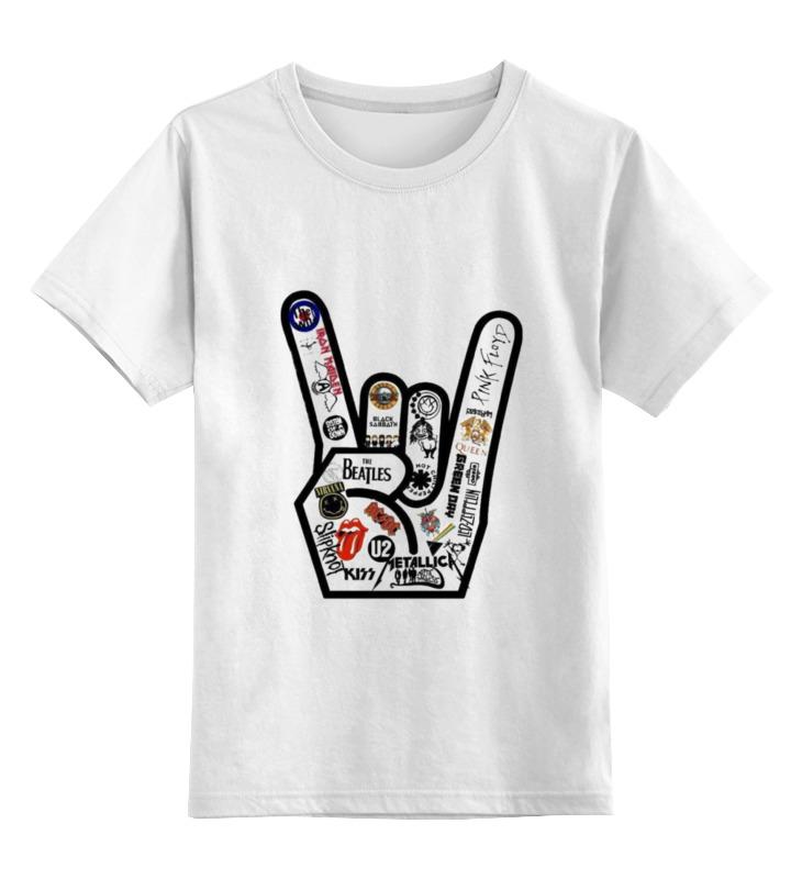 Детская футболка классическая унисекс Printio Rock music футболка классическая printio 62 2% в саратове