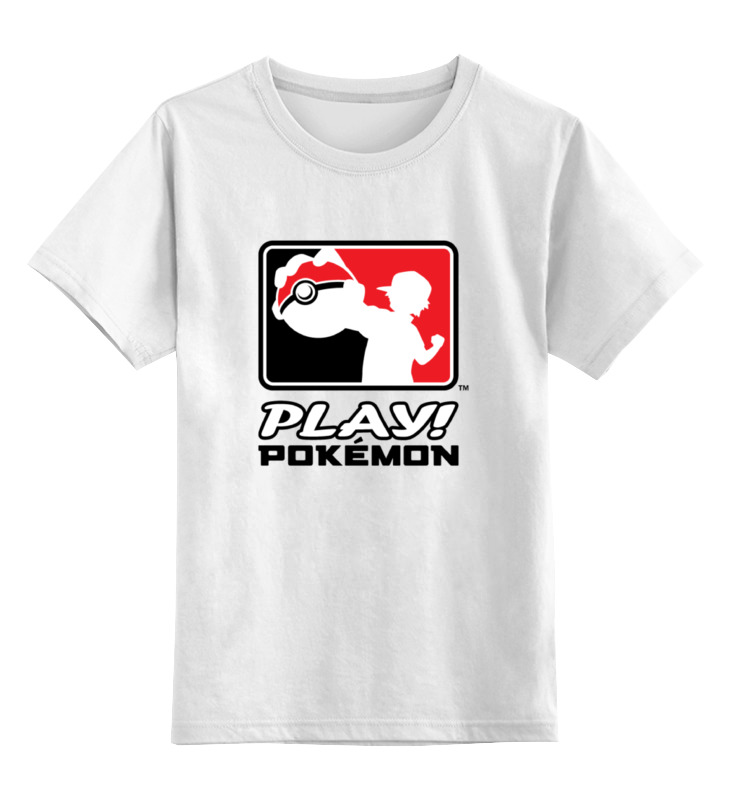 Детская футболка классическая унисекс Printio Play pokemon майка классическая printio play