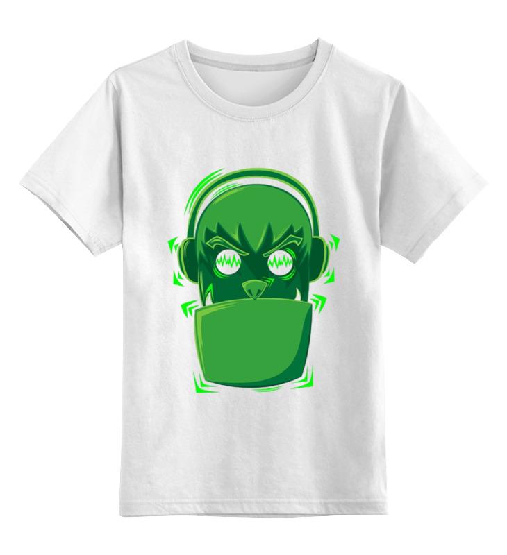 Детская футболка классическая унисекс Printio Меломан детская футболка классическая унисекс printio меломан