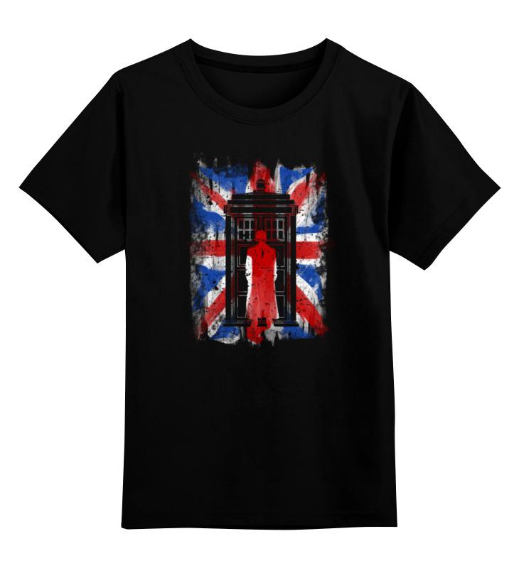 Детская футболка классическая унисекс Printio 10th флаг uk (доктор кто) футболка классическая printio uk love