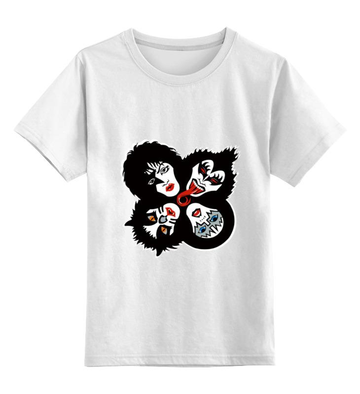 Детская футболка классическая унисекс Printio Rock group kiss