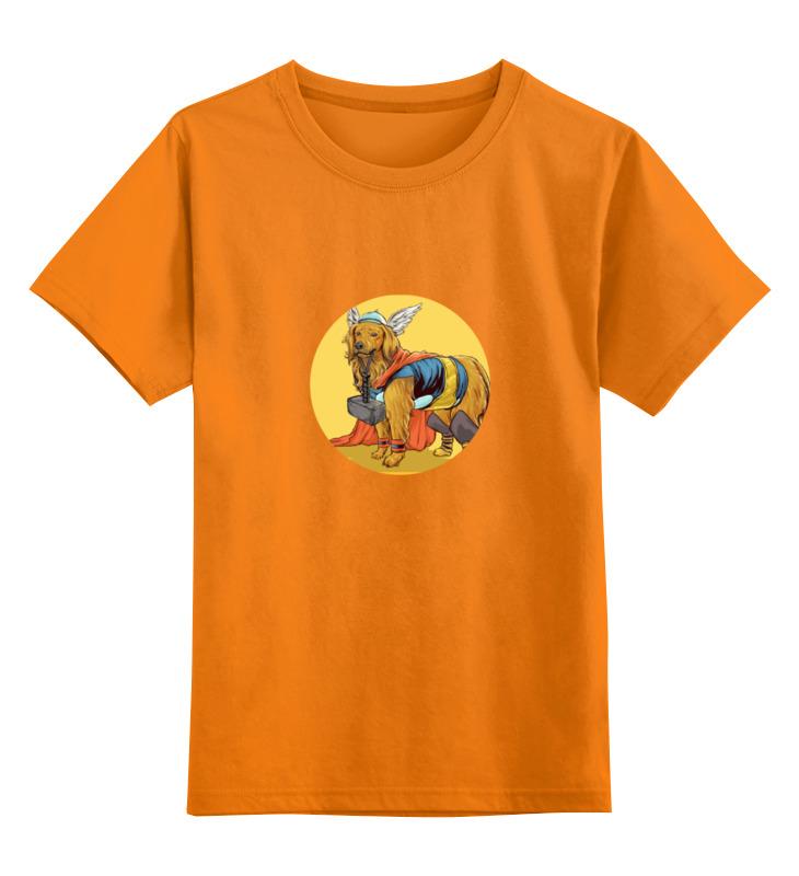 Детская футболка классическая унисекс Printio Супергерои: тор чехол для iphone 7 глянцевый printio супергерои комиксов