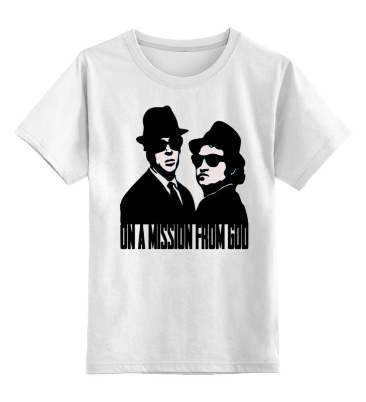Детская футболка классическая унисекс Printio Братья блюз (the blues brothers) лонгслив printio the blues brothers