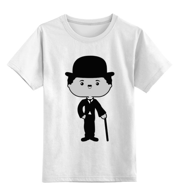 Детская футболка классическая унисекс Printio Чарли чаплин детская футболка классическая унисекс printio чарли браун существо