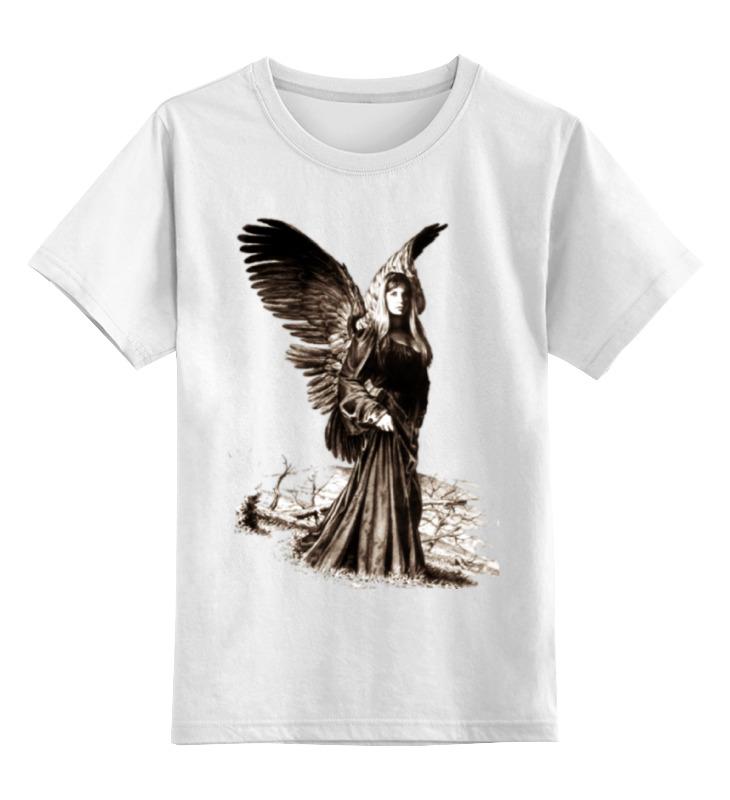 Детская футболка классическая унисекс Printio Прекрасный ангел россия дорожная икона ангел хранитель
