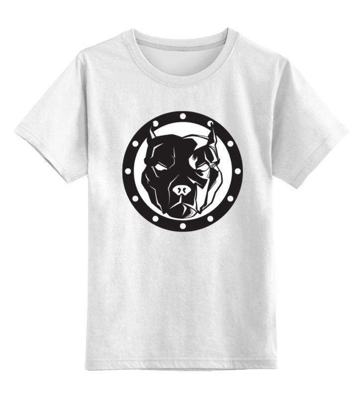 Детская футболка классическая унисекс Printio Собака цена и фото