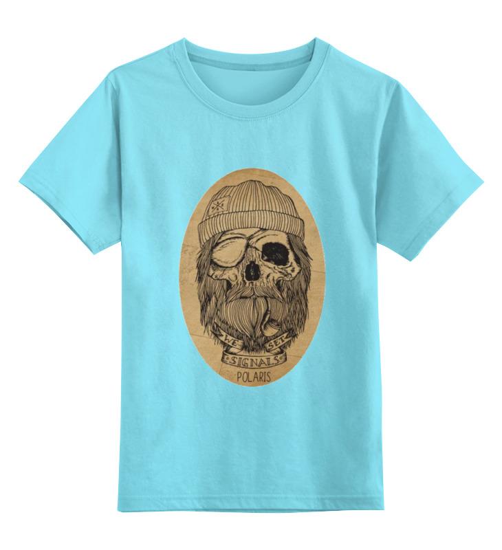 Детская футболка классическая унисекс Printio С черепом футболка с черепом