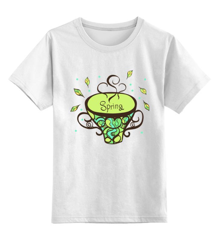 Детская футболка классическая унисекс Printio Зеленый чай детская футболка классическая унисекс printio зеленый чай