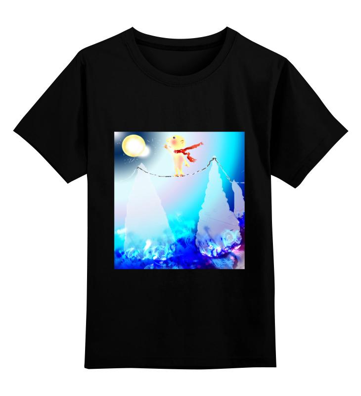 Детская футболка классическая унисекс Printio Канатоходец детская футболка классическая унисекс printio мужская футболка финес