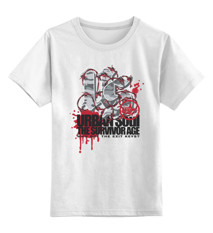 Детская футболка классическая унисекс Printio Urban soul