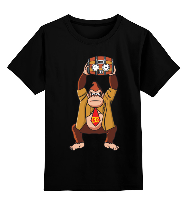 Детская футболка классическая унисекс Printio Donkey kong (nintendo) геймпад nintendo switch pro controller