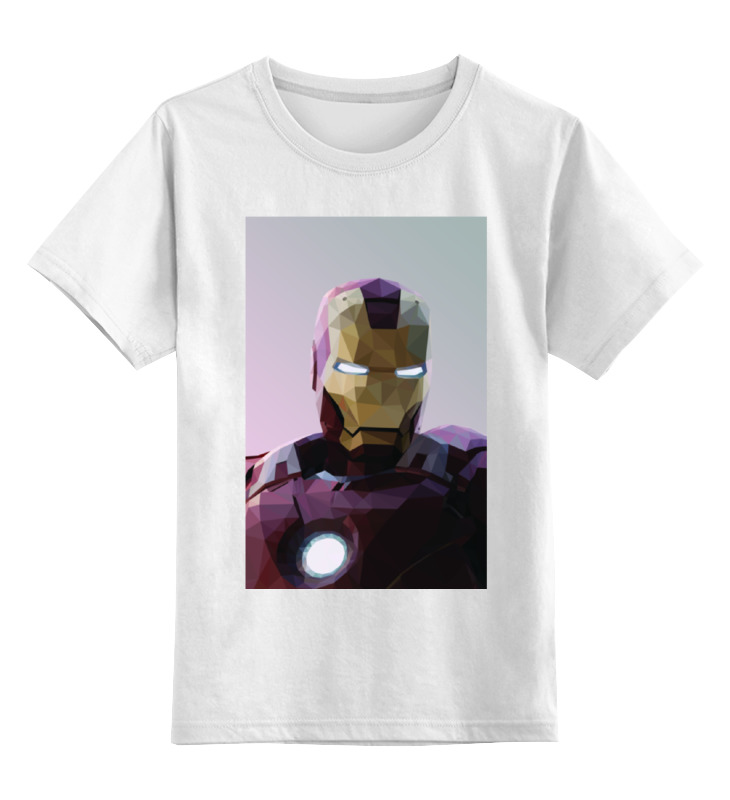 Детская футболка классическая унисекс Printio Железный человек детская футболка классическая унисекс printio spitfire