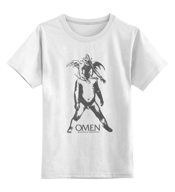 Детская футболка классическая унисекс Printio Omen boy сумка printio omen boy