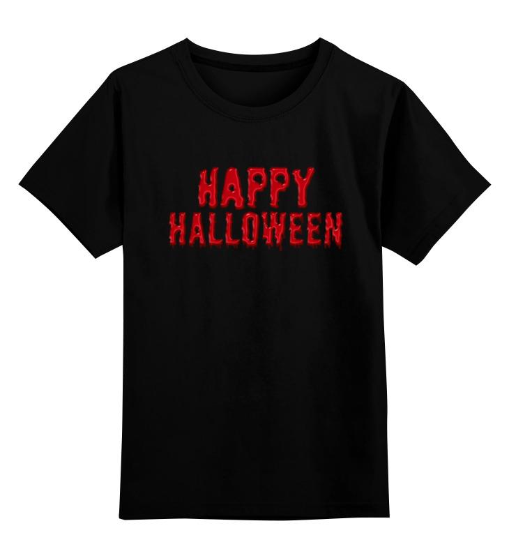 Фото - Детская футболка классическая унисекс Printio Happy halloween hot sale happy halloween pumpkin face pattern pillow case