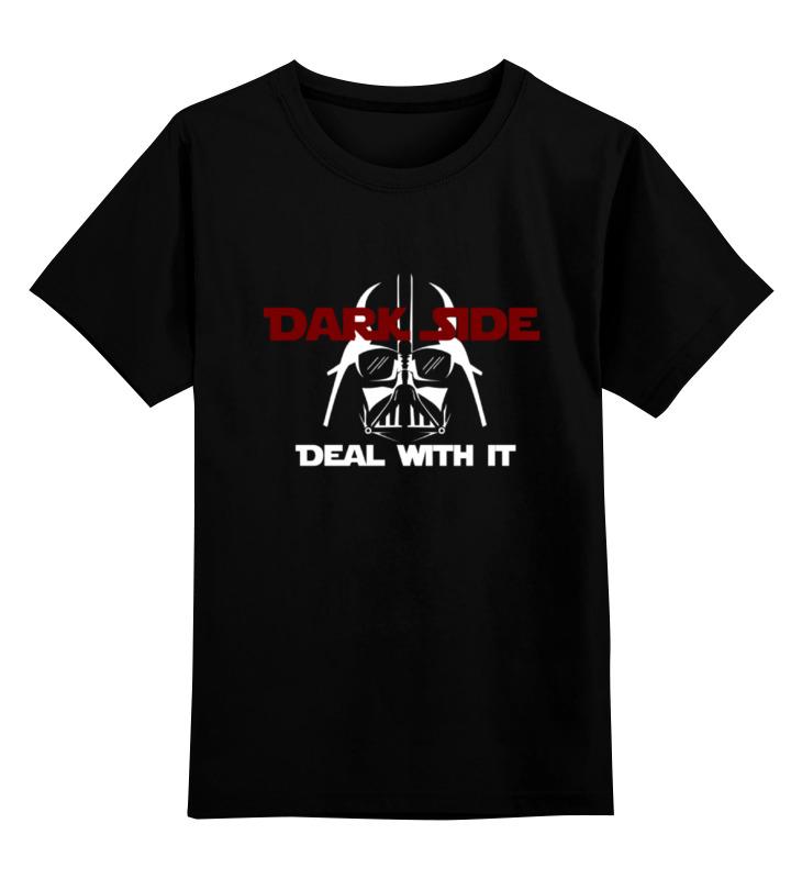 Детская футболка классическая унисекс Printio Темная сторона (звездные войны) дебби форд темная сторона охотников за светом