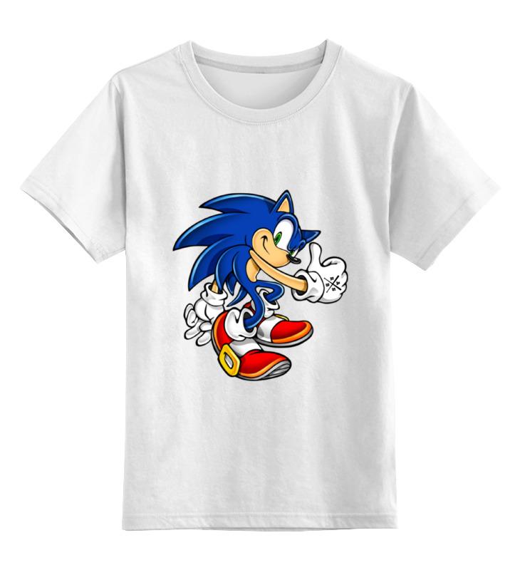 Детская футболка классическая унисекс Printio Sonic_arsb футболка детская bodo цвет белый 4 86u размер 86 92