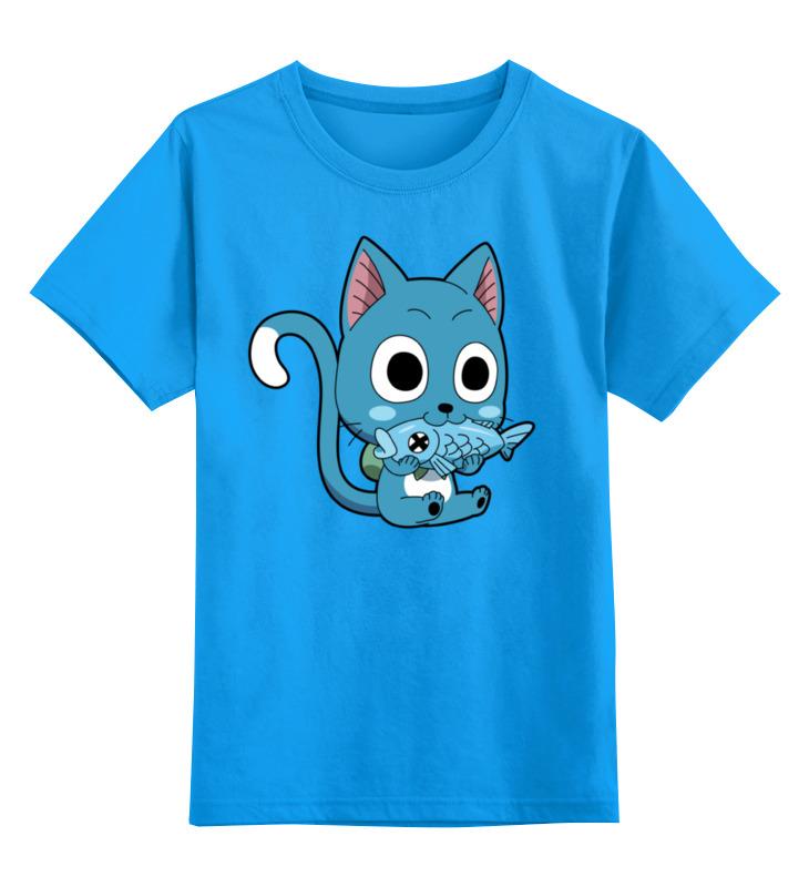 Детская футболка классическая унисекс Printio Хэппи. fairy tail