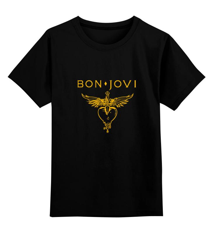 Детская футболка классическая унисекс Printio Bon jovi bon jovi montreal