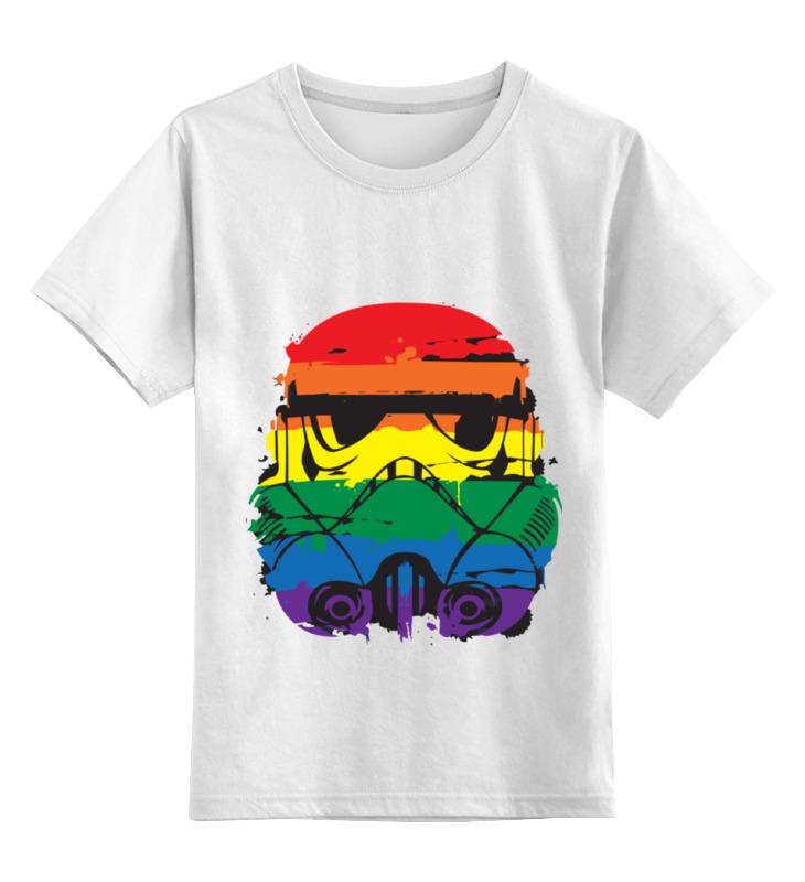 Детская футболка классическая унисекс Printio Звездные войны футболка классическая printio лего звездные войны