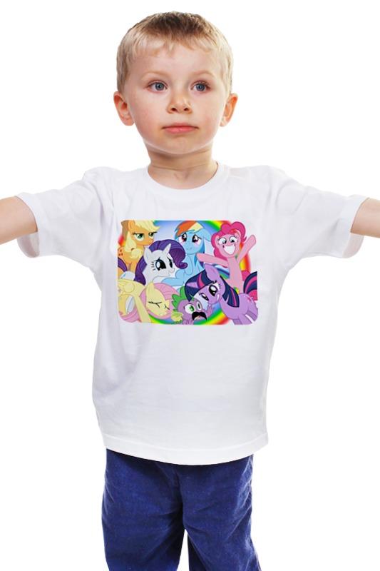 Детская футболка классическая унисекс Printio Пони. детская футболка классическая унисекс printio май литл пони