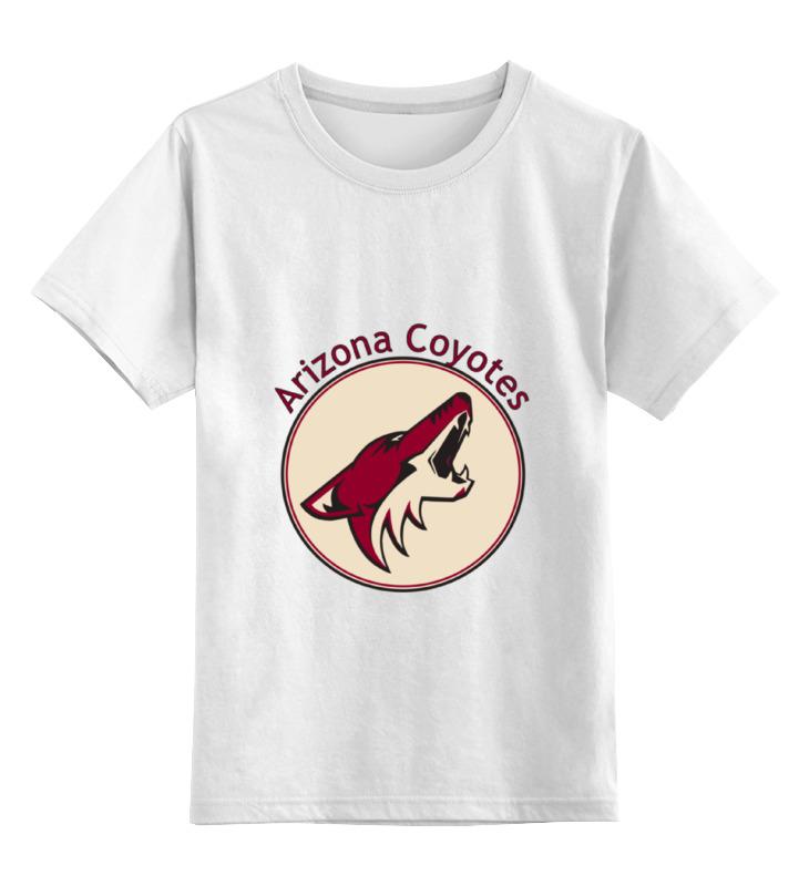 Детская футболка классическая унисекс Printio Arizona coyotes футболка quelle arizona 874837