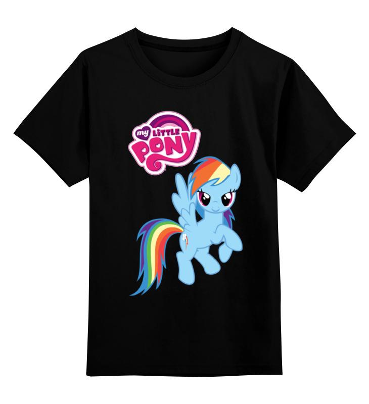 Детская футболка классическая унисекс Printio My little pony детская футболка классическая унисекс printio hello my little friend