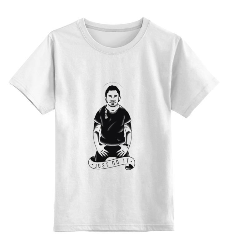 Детская футболка классическая унисекс Printio Шайа лабаф (just do it) майка классическая printio шайа лабаф just do it