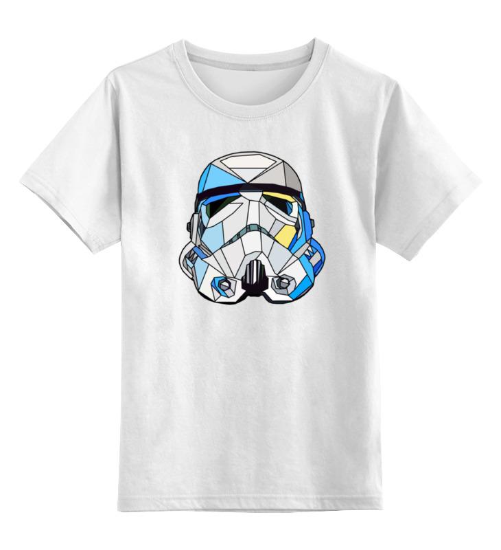 Детская футболка классическая унисекс Printio Шлем штурмовика детская футболка классическая унисекс printio doсtor moreau