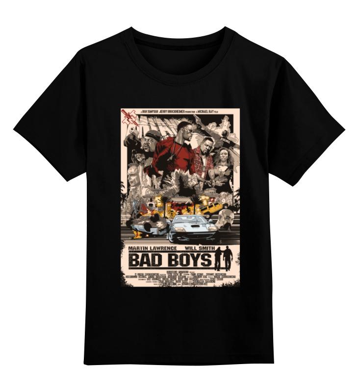 Детская футболка классическая унисекс Printio Плохие парни (bad boys)