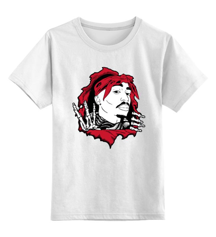 Детская футболка классическая унисекс Printio Тупак шакур (2pac) детская футболка классическая унисекс printio тупак 2pac