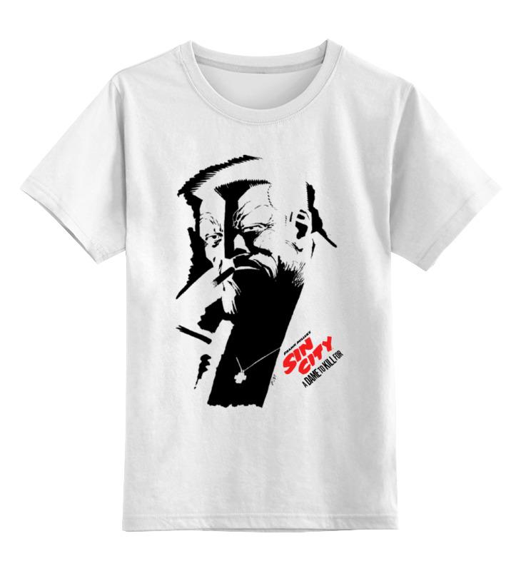 Детская футболка классическая унисекс Printio Sin city / город грехов шапка классическая унисекс printio шапка автоград рап город грехов