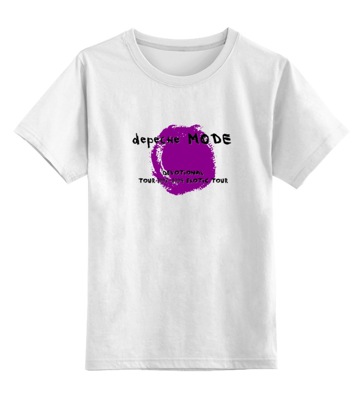 Детская футболка классическая унисекс Printio Depeche mode sofad цена и фото