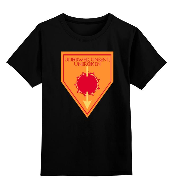 Детская футболка классическая унисекс Printio Дом мартеллов