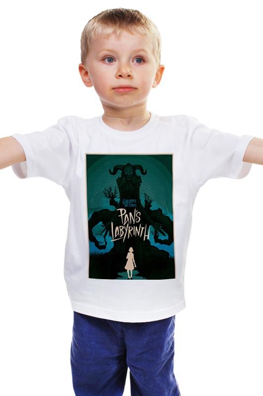 Детская футболка классическая унисекс Printio Лабиринт фавна / pan's labyrinth таро лабиринт the labyrinth tarot в минске