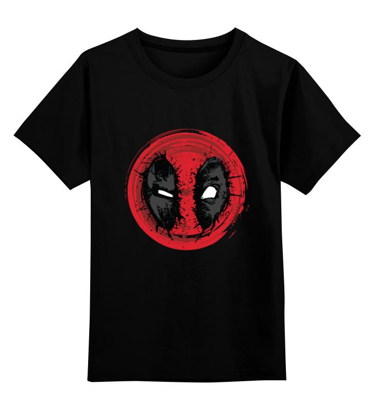 Детская футболка классическая унисекс Printio Crazy deadpool