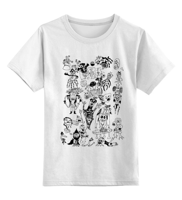 Детская футболка классическая унисекс Printio Монстрики 2 детская футболка классическая унисекс printio saints row 2 blak