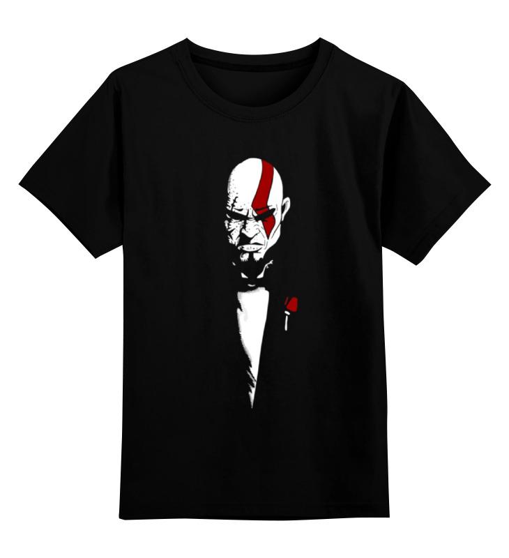 Детская футболка классическая унисекс Printio Кратос (бог войны) футболка print bar кратос god of war