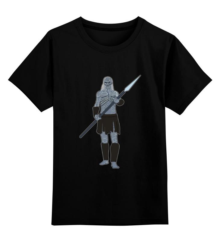 Детская футболка классическая унисекс Printio White walker (game of thrones)