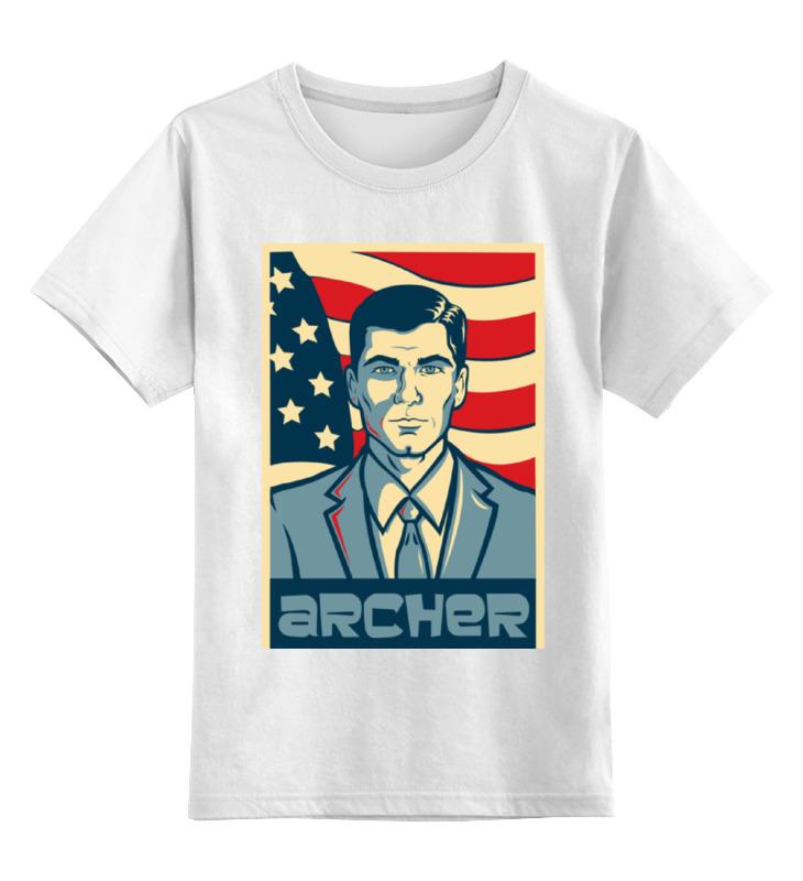 Детская футболка классическая унисекс Printio Арчер