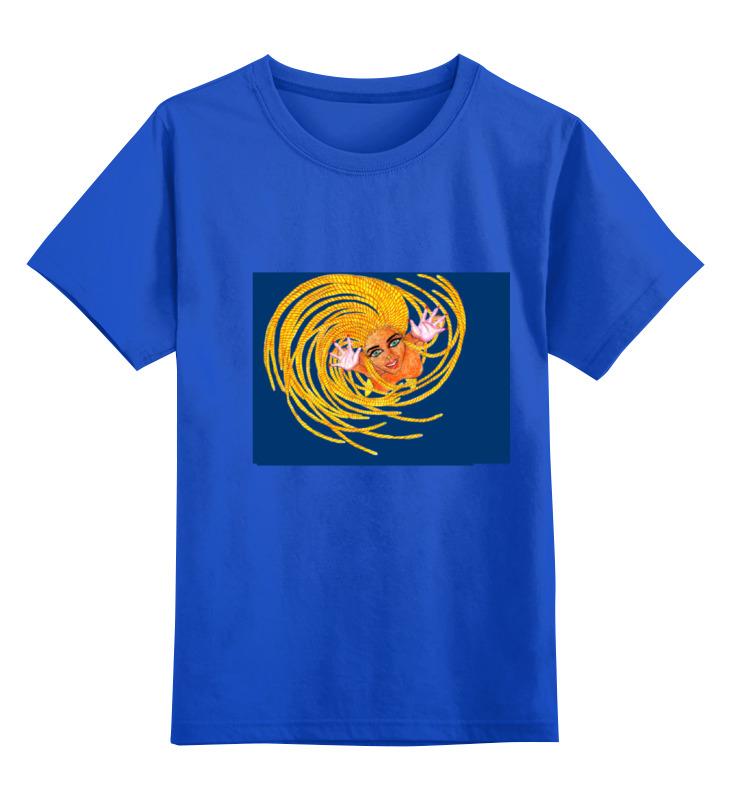 Детская футболка классическая унисекс Printio Танцовщица детская футболка классическая унисекс printio игра слов
