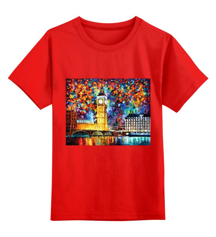 Детская футболка классическая унисекс Printio Лондон smoby детская горка king size цвет красный