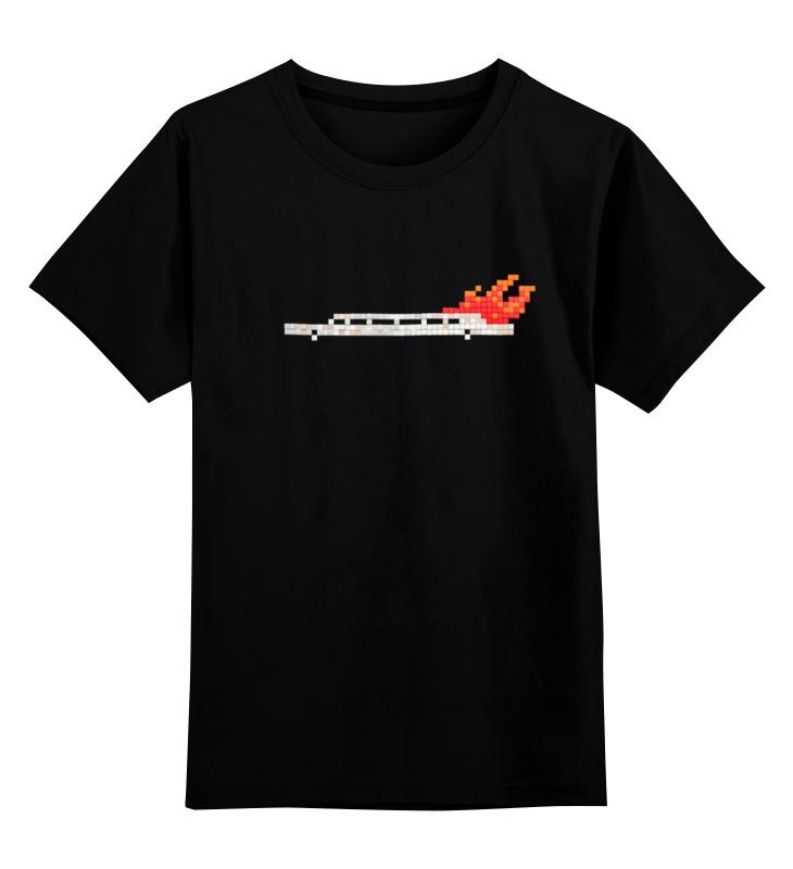 Детская футболка классическая унисекс Printio Лимузин в огне